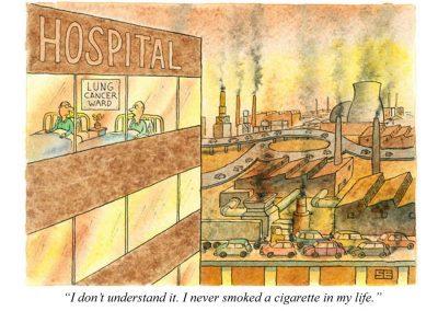 Lung cancer ward