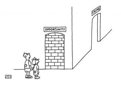 Opportunity vs crime