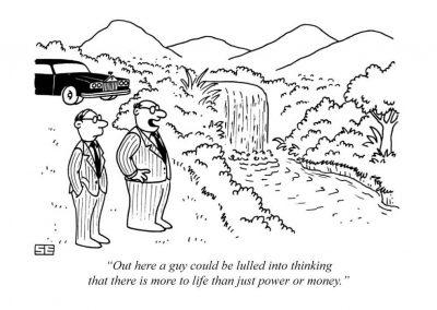 Power or money