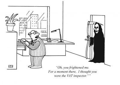 VAT inspector and Grim Reaper