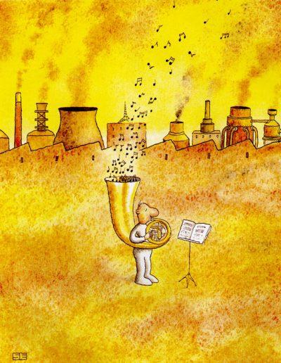 Yellow tuba