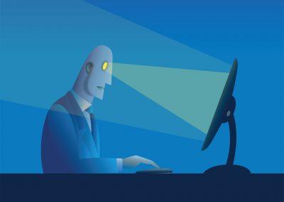 Man at computer 1
