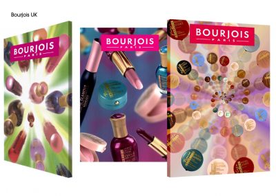 Bourjois counter showcards