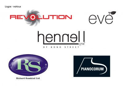 Logo design for various firms
