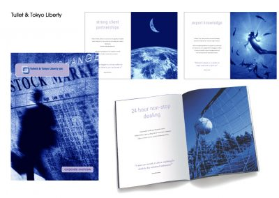 Tullet and Tokyo Liberty brochure