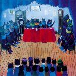 Virton - Conseil communal des chats - Marguerite Brouhon