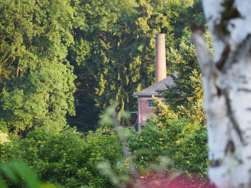 Uitzicht op t dal op de voormalige broodfabriek