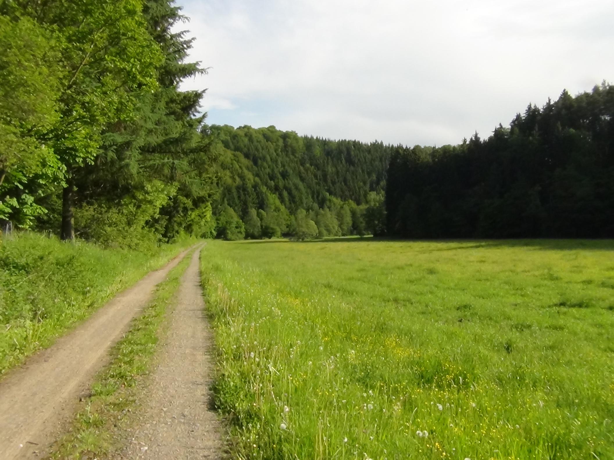 Wandeling in het Orketal
