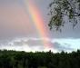 """Regenboog over """"Lichtenfels"""""""
