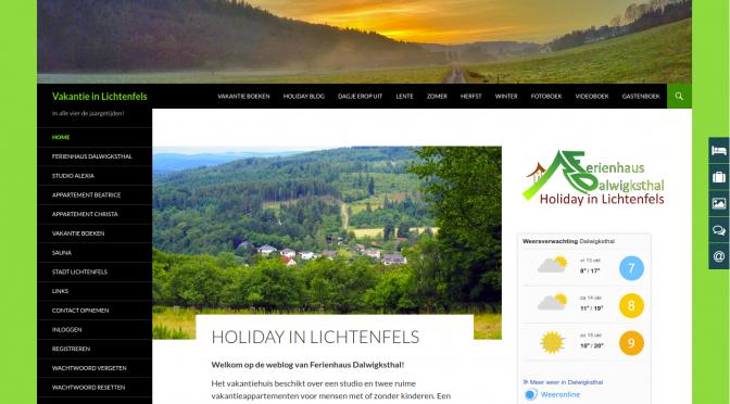 Site Vakantie in Lichtenfels
