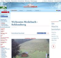Ski-webcam Schlossberg – Medebach (8km)