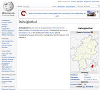Dalwigksthal in Wikipedia
