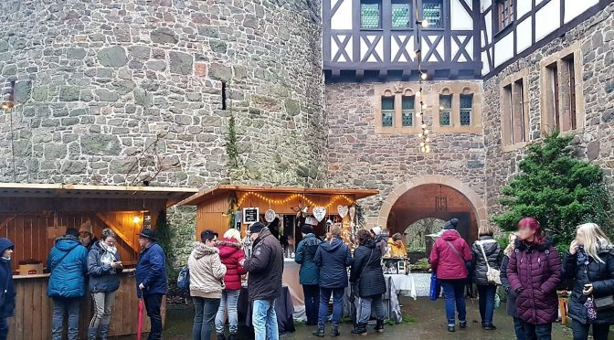 Weihnachtsmarkt Burg Lichtenfels