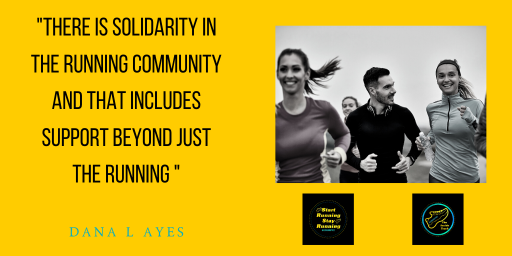 Quote about the Running community