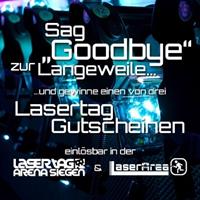Gewinnspiel Lasertag Arena Siegen und LaserArea Herborn