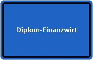 Diplom-Finanzwirt