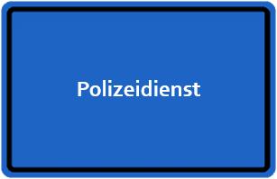 Polizeidienst