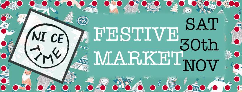 Poster: Saturday 30th November Indoors Festive Market