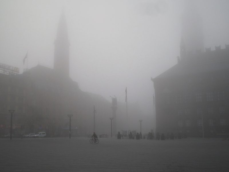 The Copenhagen City Hall in a Heavy Fog, 2006