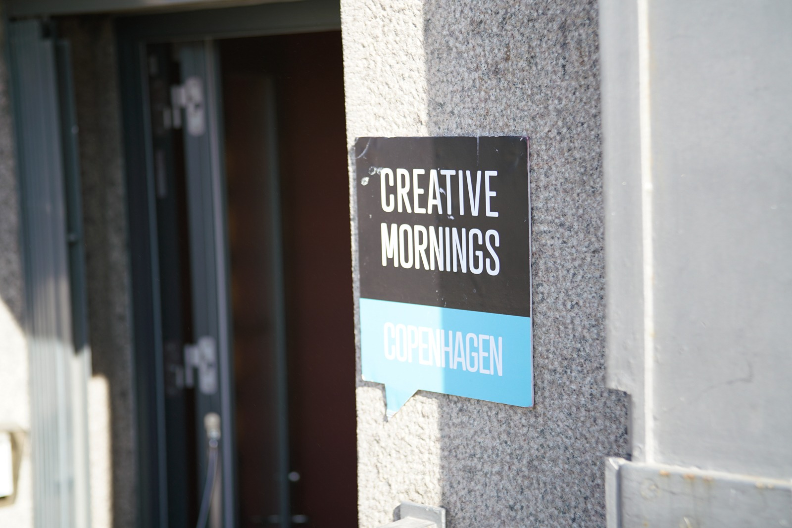 Event photography: Creative Mornings Cph - shot with Lomography Neptune