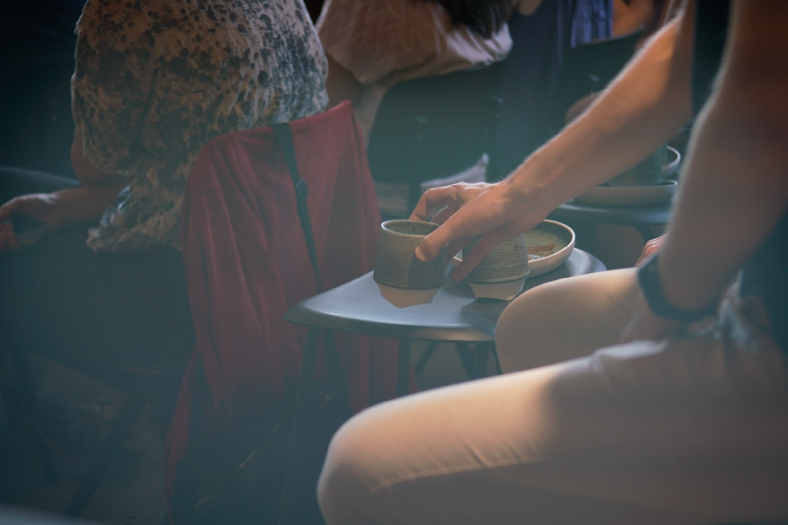 Event photography: Coffee - an important part of a Creative Morning - shot with Lomography Neptune