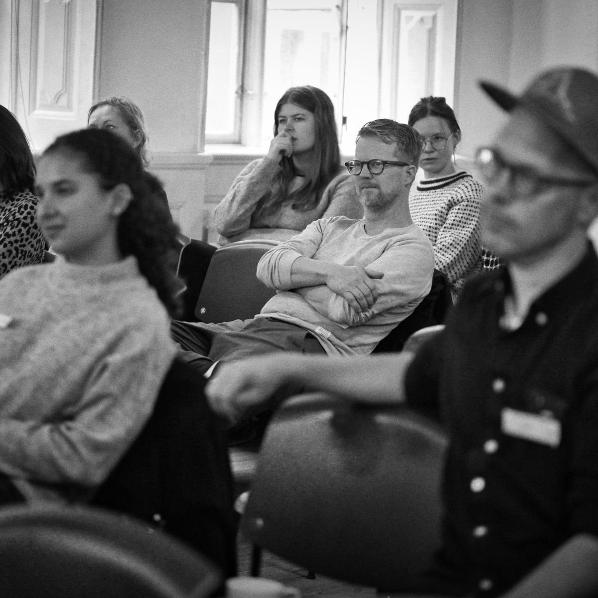Event photography: Creative Mornings Sep 19 - stuff for thought
