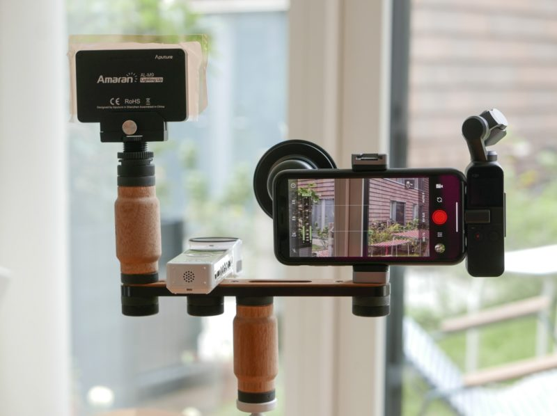 iPhone foto- og video rig