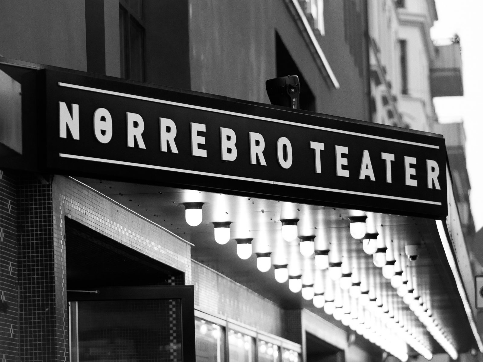 Nørrebro theater - the venue of the day