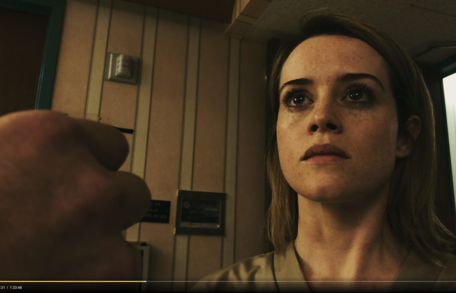 Still frame from Steven Soderbergh's Unsane - A feature film shot on iPhone 7+