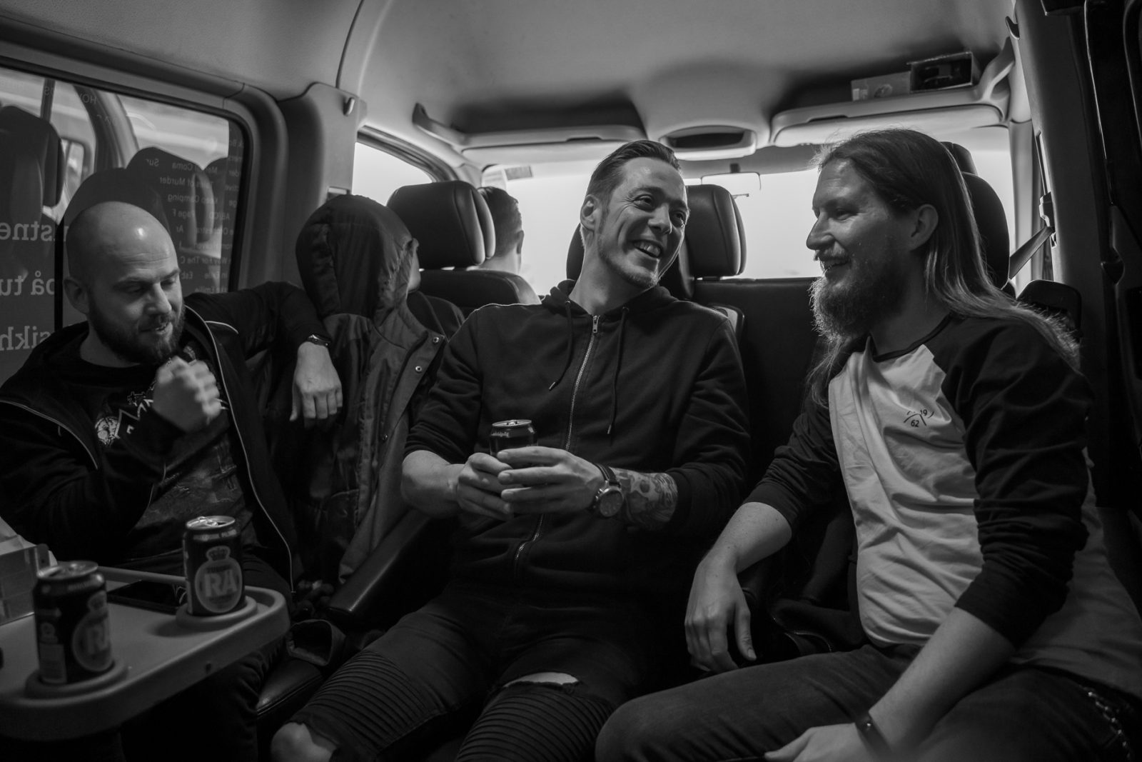 Concert Photography: The Tuborg Music help band bus: Electric Hellrides Casper, Brian and Nicklas
