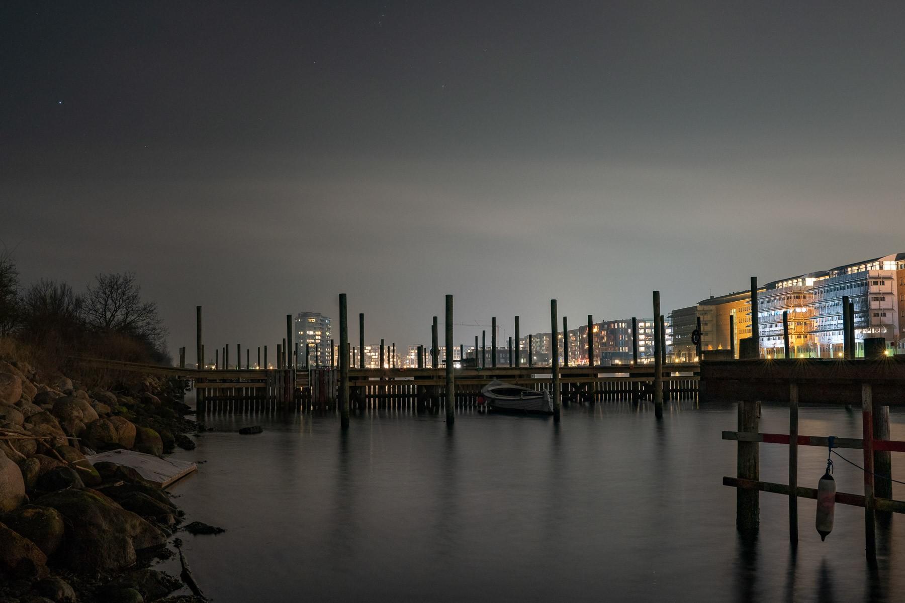 Haveforeningen Nokken: Havnefronten set fra Nokken