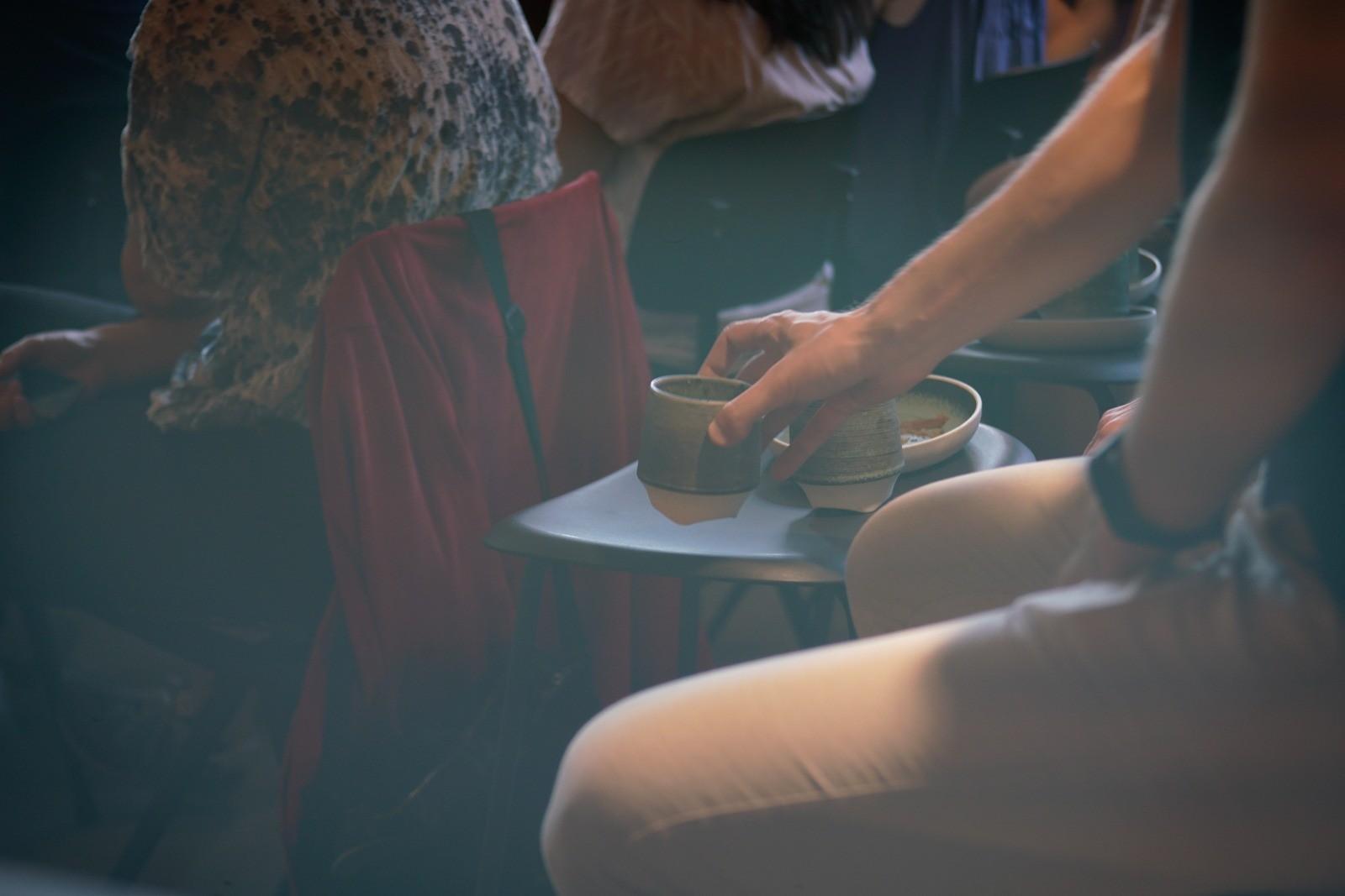 Event fotografering: Kaffe - en vigtig del af en Creative Morning - skudt med Lomography Neptune