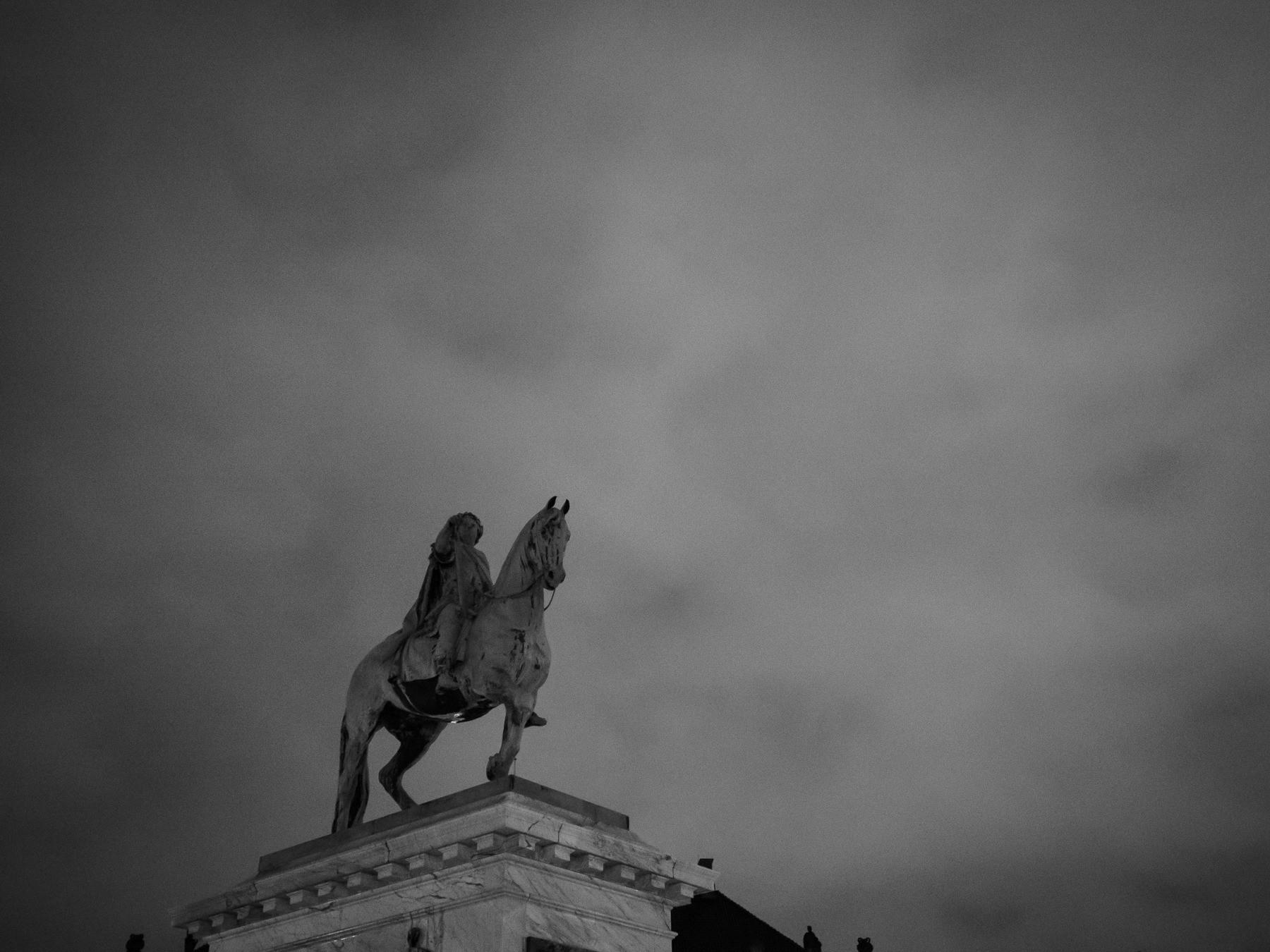 rytterstatuen på amalienborg slotsplads - Frederik d. 5.