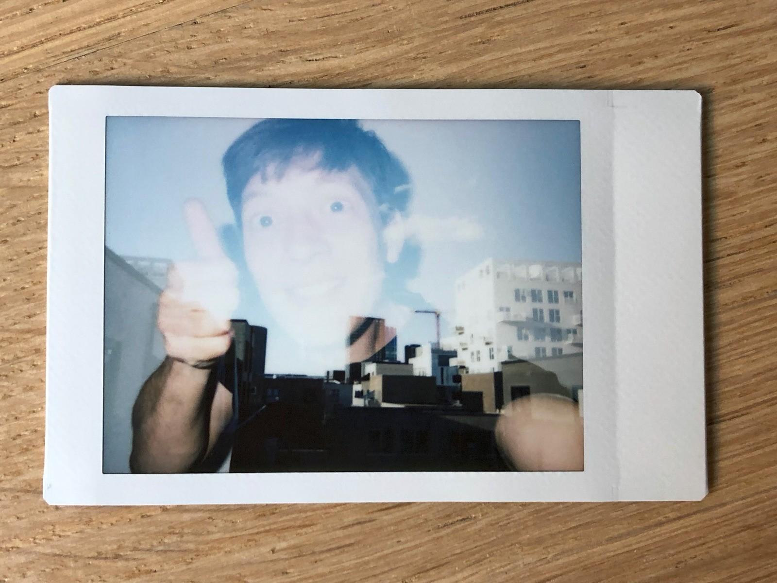 Dobbelteksponering med Fujifilm Instax Neo Classic Mini 90