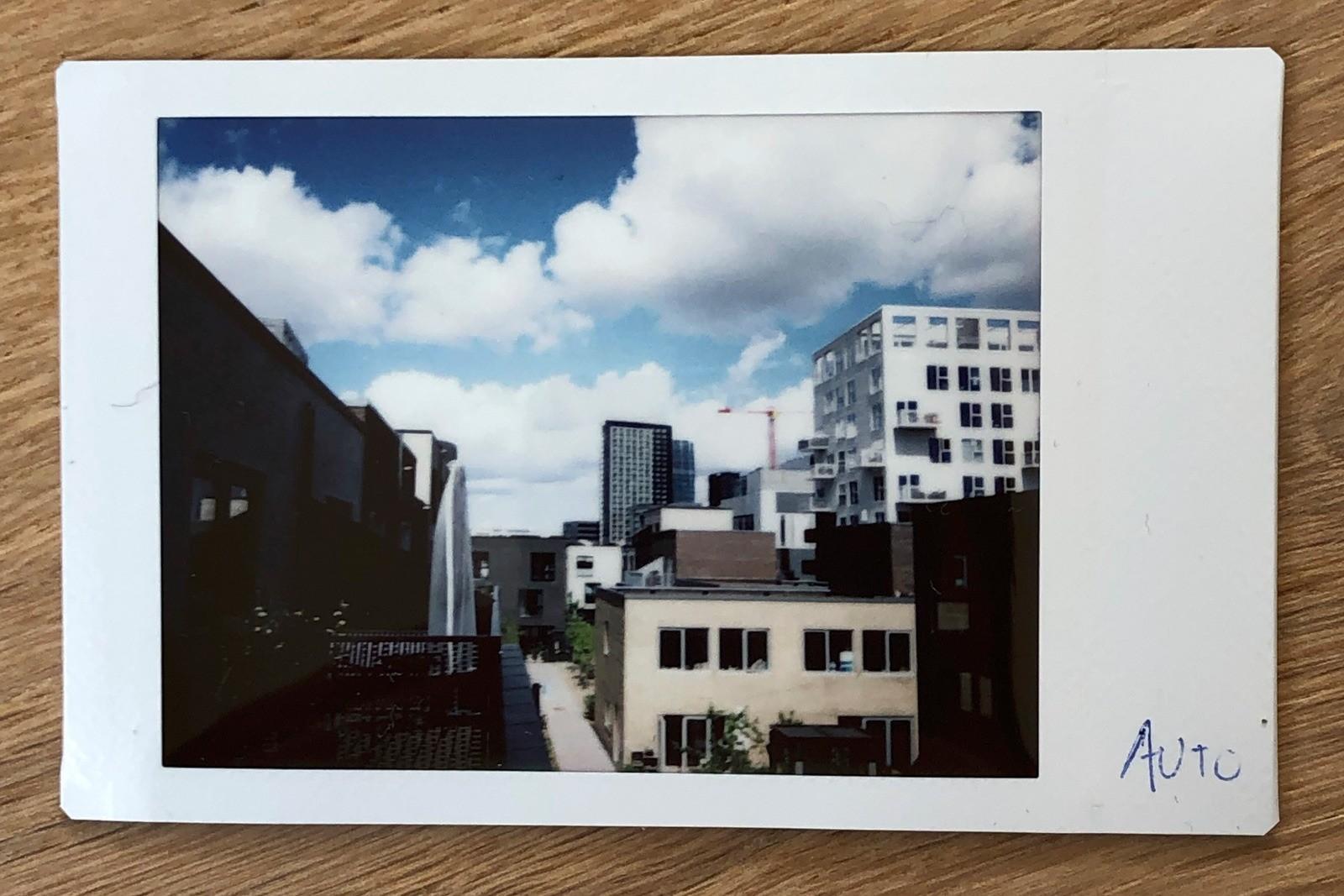 Fujifilm Instax Neo Classic Mini 90 - fotokvalitet test 1