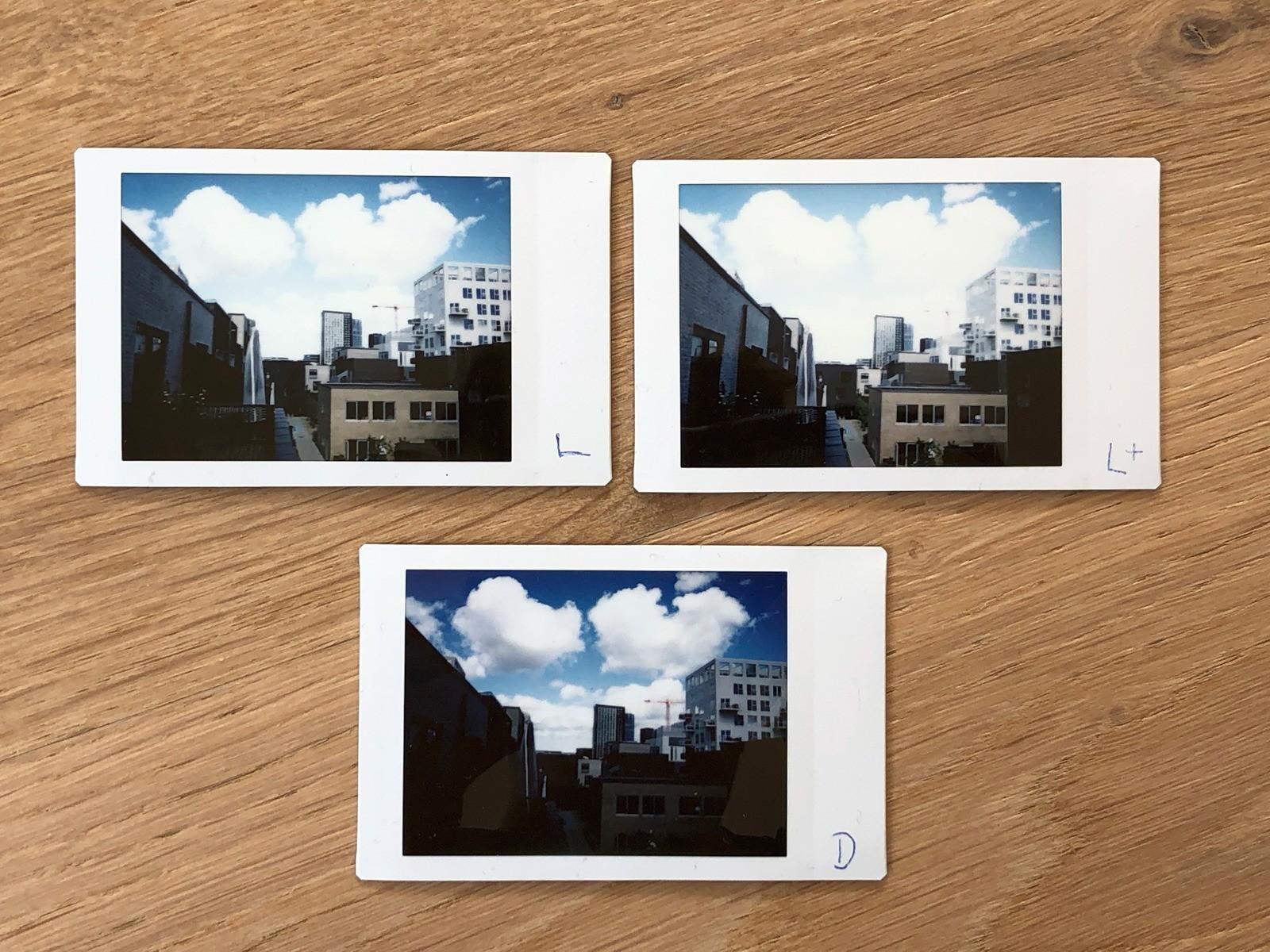 Fujifilm Instax Neo Classic Mini 90 - fotokvalitet test 3