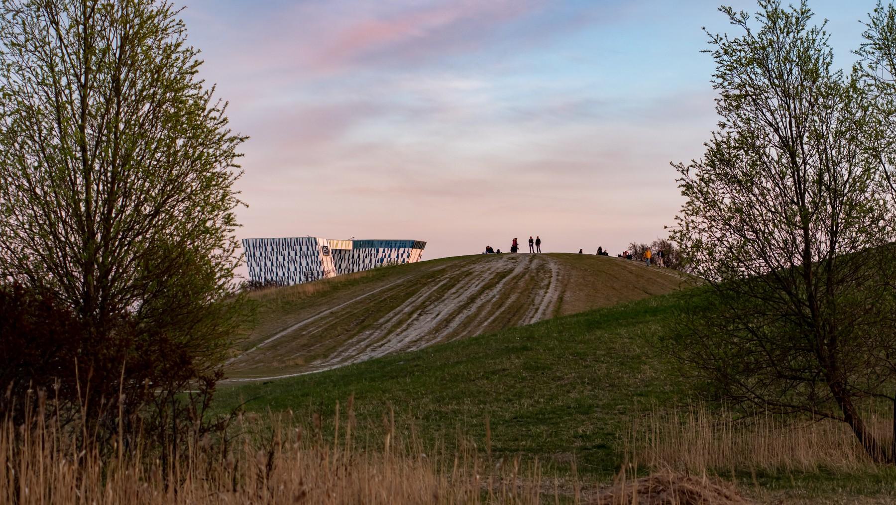 Anamorfisk landskab: Amager Fælled/Ørestad