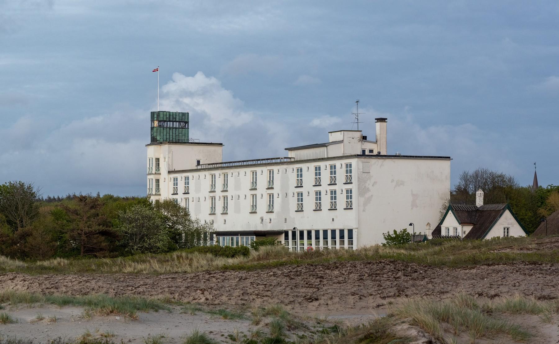 Hornbæk Badehotel - nu en del af Rigshospitalet