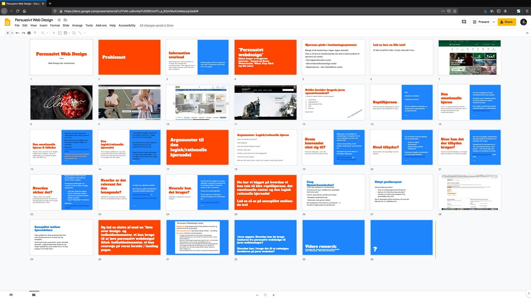 Persuasivt web design - et oplæg om webdesign der overbeviser