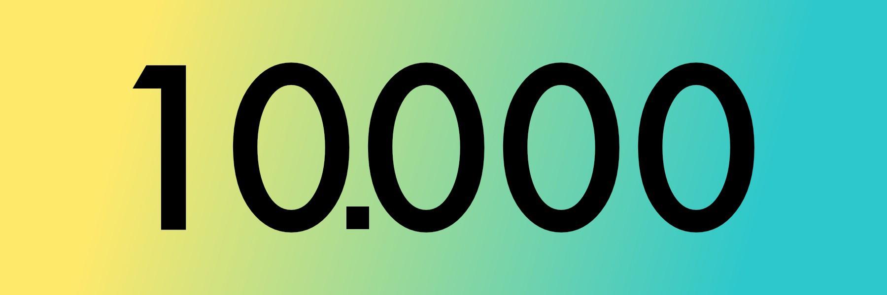 10.000 dage til pension