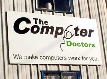 Logo-bommert: Computer Doctors