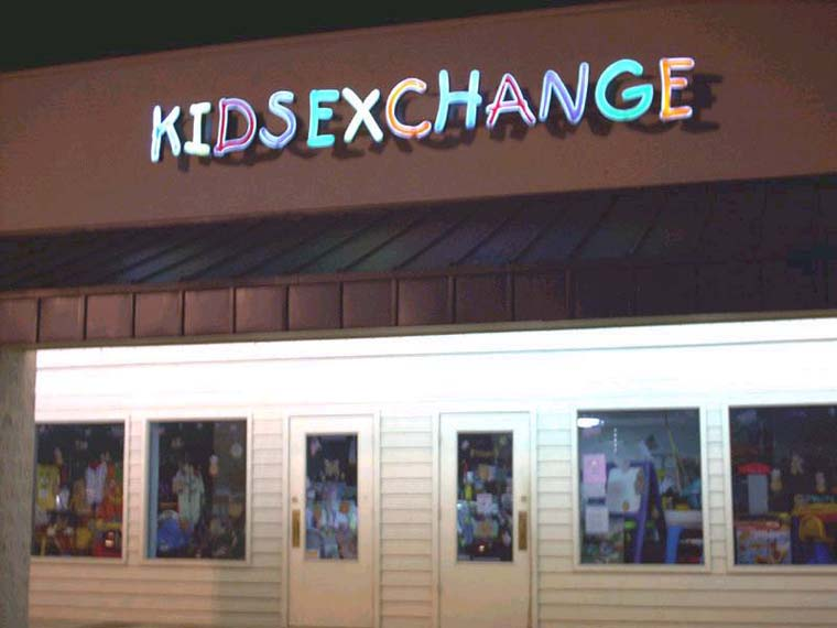 Logo-bommert: Kids Exchange -> Kidsexchange