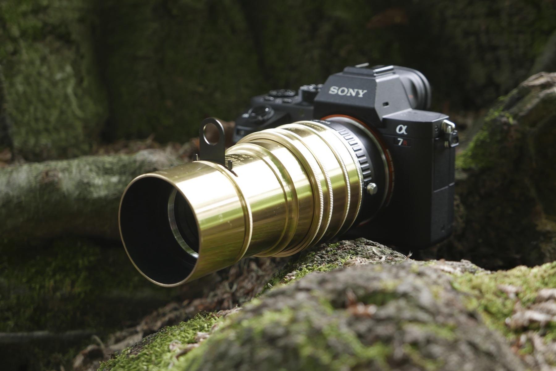 Lomography Daguerreotype Achromat på Sony A7r ii