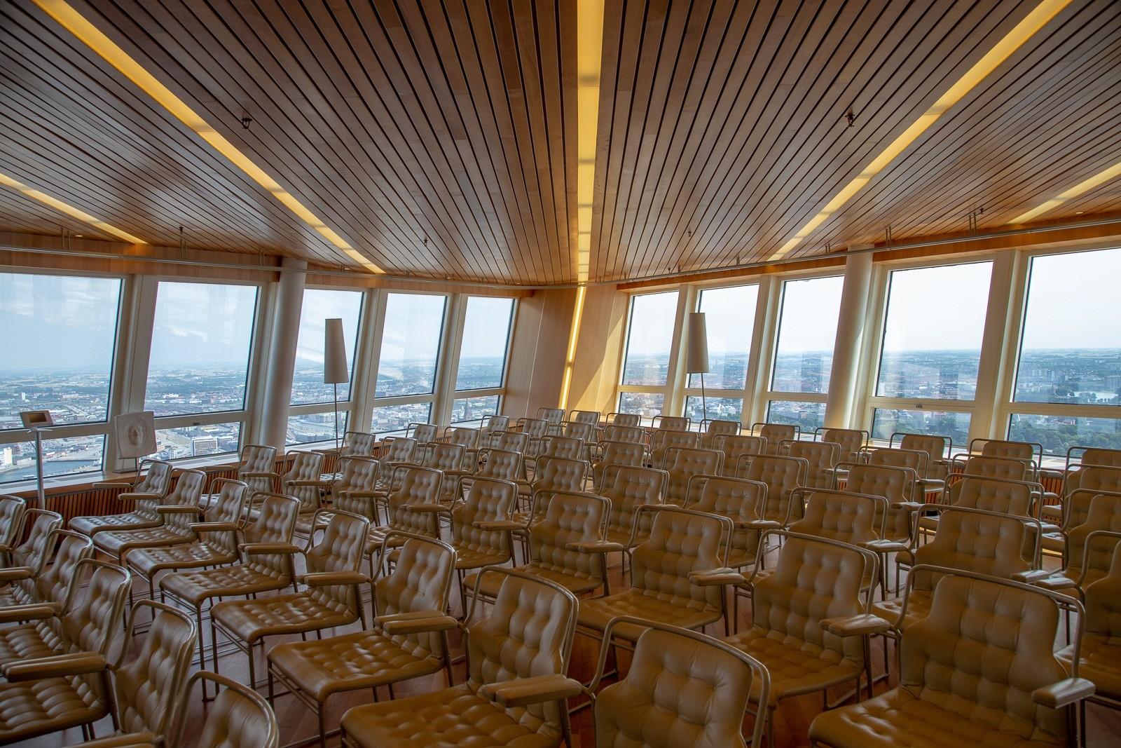 Turning Torso: Besøgscentret på 45. etage