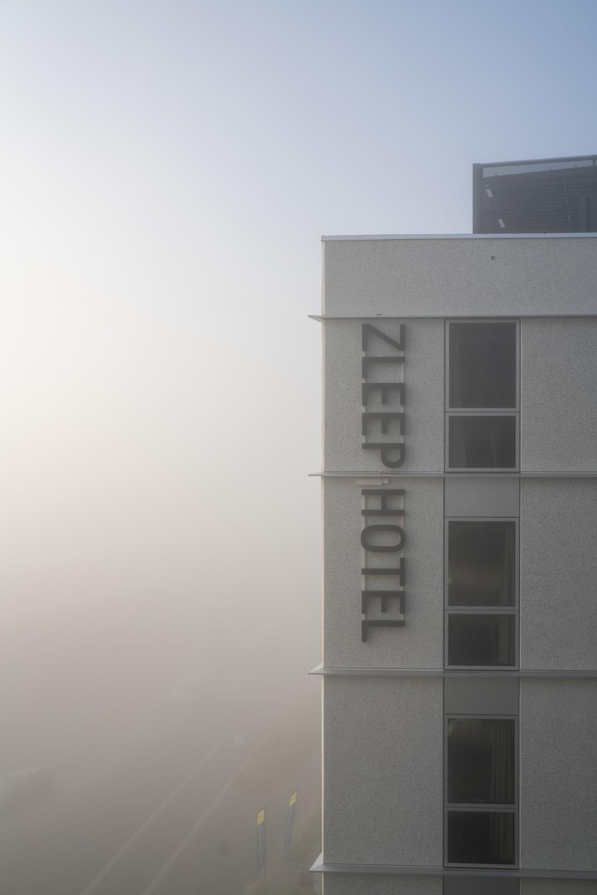 Det nye Zleep hotel på Ørestad Boulevard