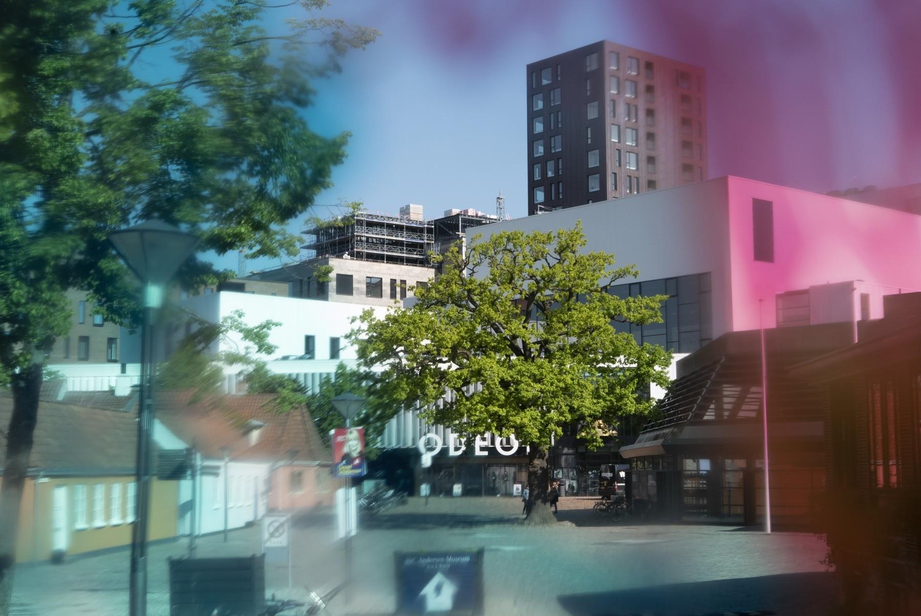 Fotosjov: Farvelader på filtret - skarpt tegnet!