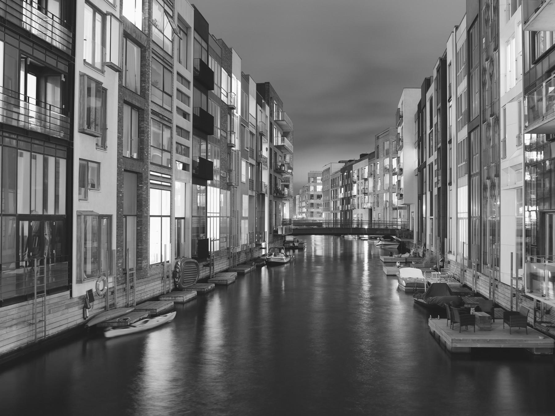 Kanalerne i Sydhavnen, København - Voigtländer 17.5mm til Micro Four Thirds