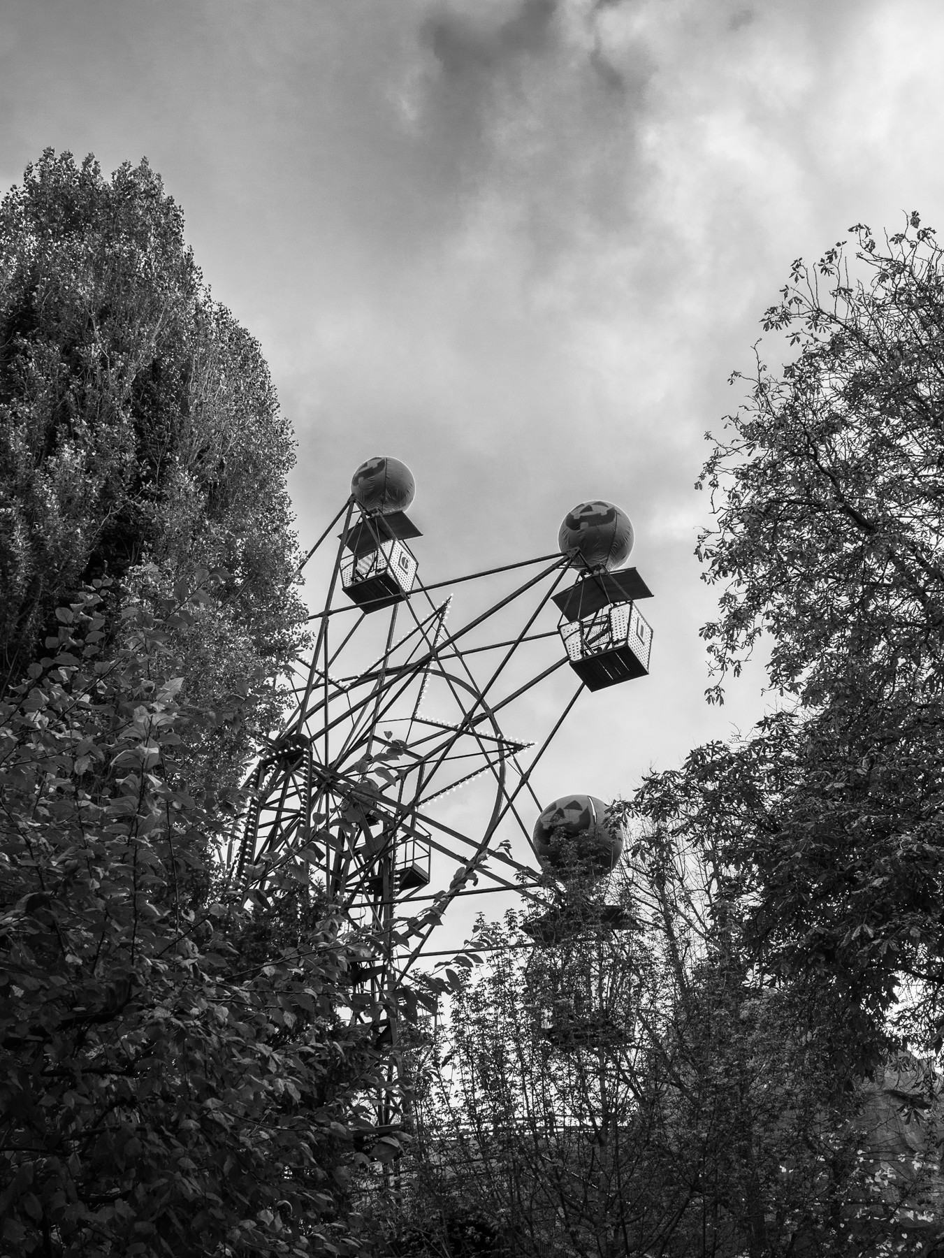 Pariserhjulet i Tivoli, Halloween
