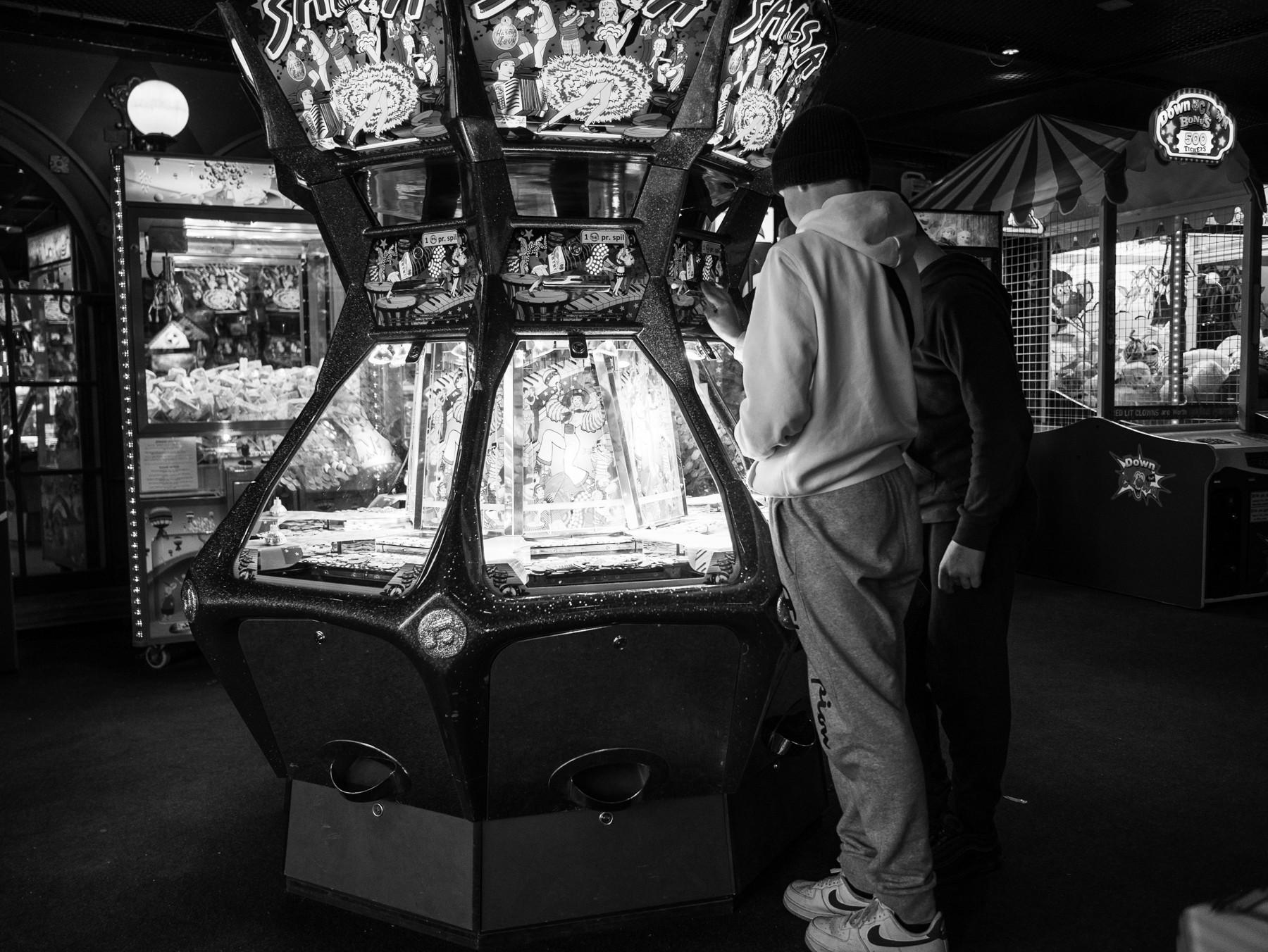 En spillebule i Tivoli