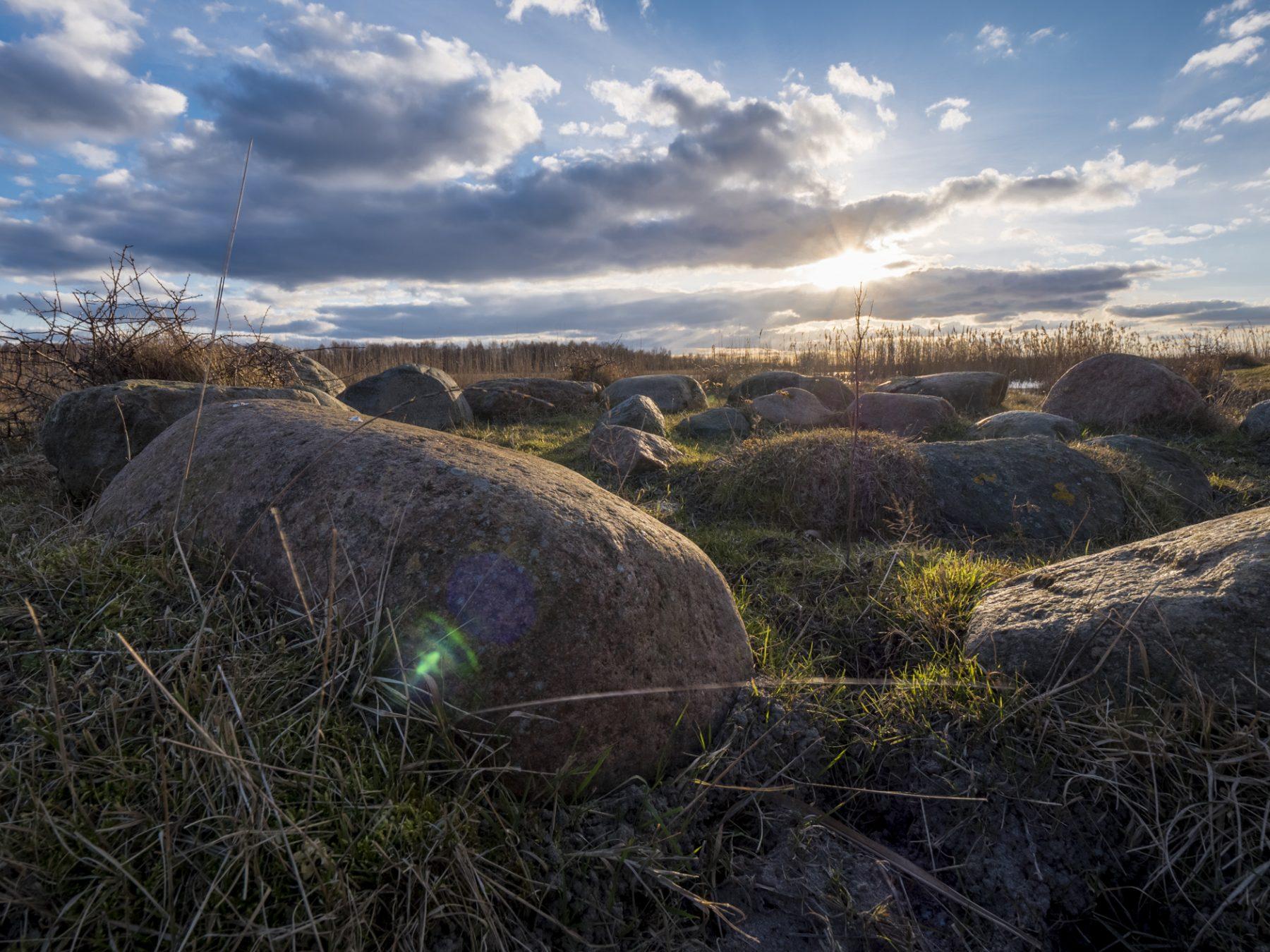 Landskabsfotografering: Bålsted på Kalvebod Fælled